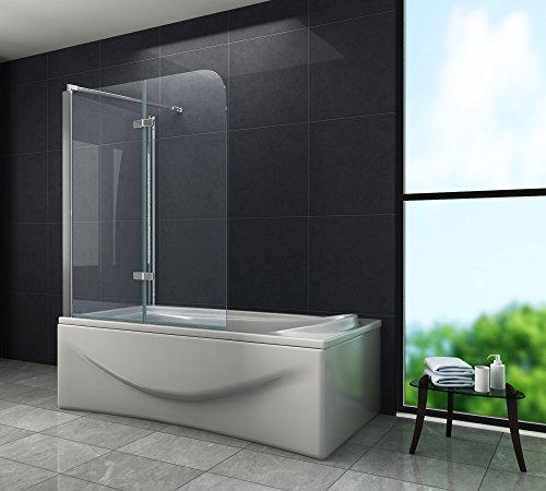 Eck-Duschtrennwand AROUND 70 (Badewanne)