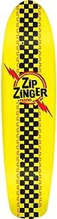 Krooked Zip Zinger Nano Classic Skateboard Deck -7.125x29 Y/Bk - Assembled AS Complete Skateboard