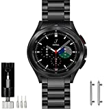 OTOPO Armband Kompatibel für Samsung Galaxy Watch 4 Classic 46mm, Keine Lücke Solider Edelstahl...