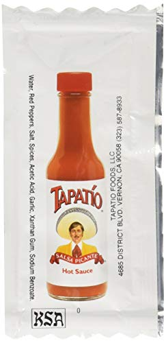 Tapatio Hot Sauce - 75 1/4 oz. Travel Packets