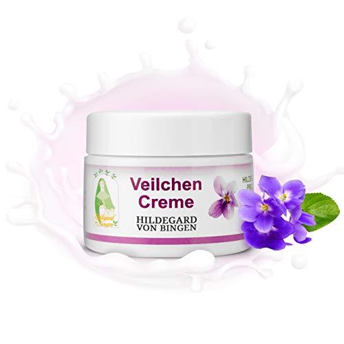 Veilchen-Creme nach Hildegard von Bingen - Anti-Aging - Pflege für Teint und Dekolleté - 50 ml