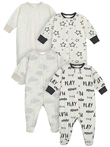 Pack de 4 fundas para bebés de la marca de Onesies Sleep 'N Play