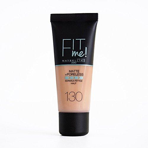 Maybelline Fit me! Matte&Poreless Make-up Nr. 130 Buff Beige, 30 ml