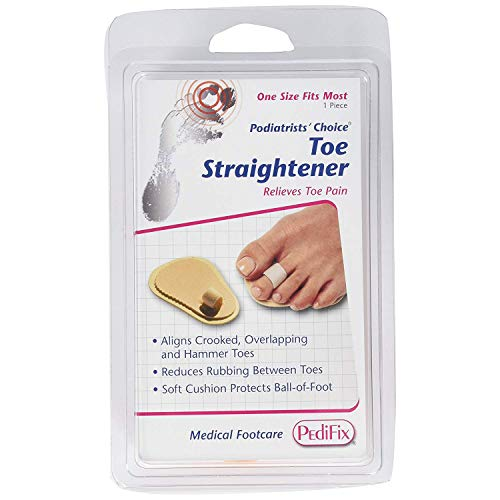 PediFix Toe Straightener [#P55] One Size Fits Most 1 Each (Pack of 2)