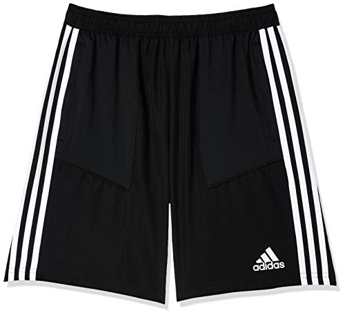 adidas TIRO19 WOV SHOY Pantalones Cortos de Deporte, Unisex niños, Black/White, 910Y