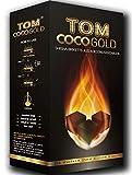 Tom Coco Gold 1 kg de Charbon Naturel pour narguilé et Barbecue
