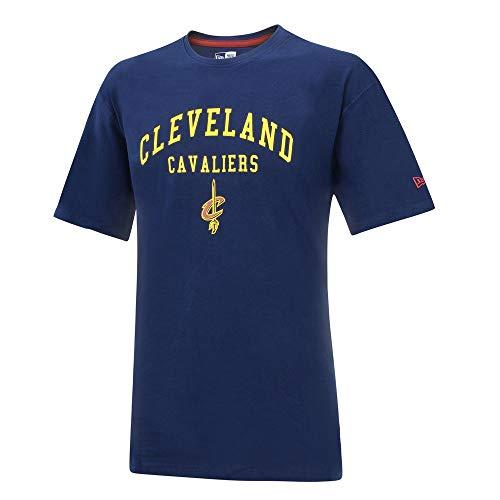 New Era NBA Cleveland Cavaliers Classic Arch T-Shirt, Navy, XL