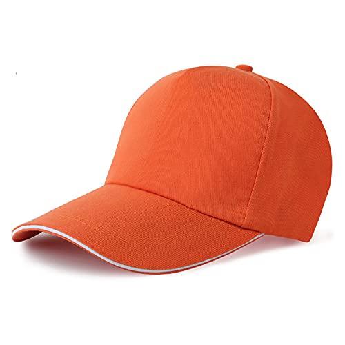 SunYoon Gorra de béisbol de moda y cómoda unisex cómoda y transpirable, sombrero clásico del color sólido, Color 5,
