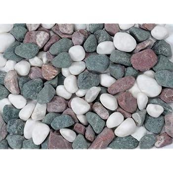 五色石 1袋20kg入り<玉砂利・国産・日本製> 5分(直径約16-19mm)