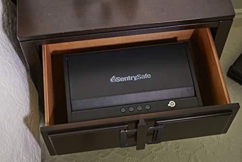 SentrySafe QAP2EL Gun Safe with Digital Keypad and Interior Lights Two Handgun Capacity