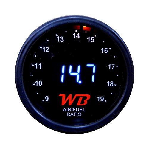 WB Wideband D2 Air Fuel Ratio Gauge (WHITE)