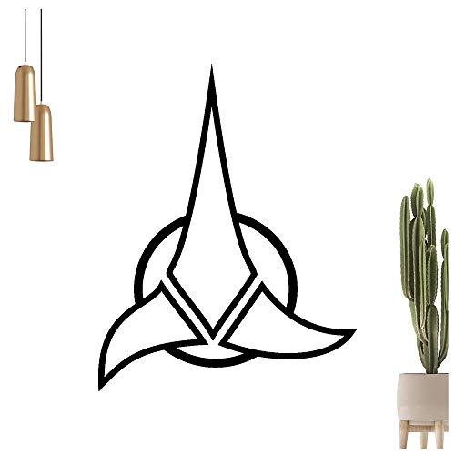 KIWISTAR Klingonen Wandtattoo in 6 Größen - Wandaufkleber Wall Sticker
