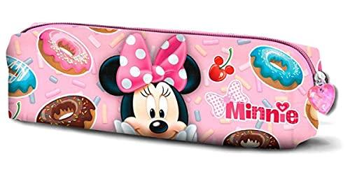 KARACTERMANIA Minni Mouse Yummy-Astuccio Portatutto Quadrato, Rosa