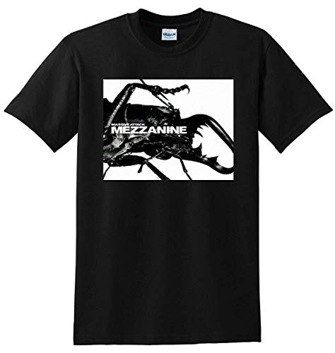 2688 Massive Attack T Shirt Mezzanine Vinyl CD Cover Small Medium Large Or XL