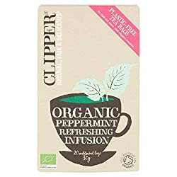 Our Peppermint infusion provides a light, highly refreshing drink with a crisp, clean and cool taste. Naturally caffeine free. Organic, natural, fair & delicious We never add anything artificial, we don't even bleach our bags