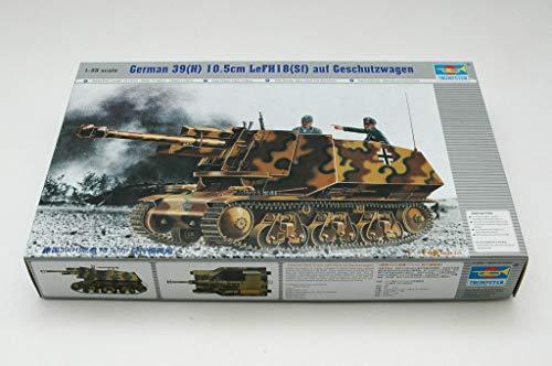 Trumpeter 00353 Modellbausatz PzKpfw 39(H) 10,5 cm LeFH18 (SFf) auf Geschützwagen