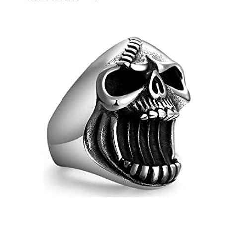 Bottle Opener Ring Men Hip Hop Skull Head Rings Cool Rings New Gothic Jewelry Ring Male Unisex Vintage Accessories Bottle Opener Skull Ring