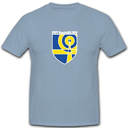 PSV SendeBtl 850 Bundeswehr Bw Sen✮aillon wapen badge embleem - T-shirt #4826
