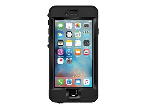 Lifeproof NÜÜD SERIES iPhone 6s ONLY Waterproof Case - Retail Packaging - BLACK