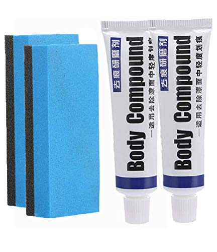 Professional Car Scratch Repair Agent Body Compound Get Grinding Sponge Free