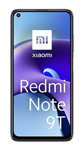 """Xiaomi Redmi Note 9T 5G Smartphone, 4GB+128GB, 6,53"""" FHD+ DotDisplay 90Hz, MediaTek Dimensity 800U, 48MP Triple Camera, 5000mAh, NFC, Daybreak Purple"""