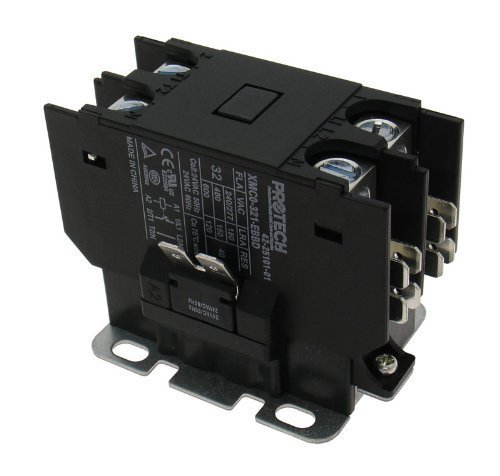 OEM Replacement for Rheem Single Pole / 1 Pole 30 Amp 24V Coil Condenser Contactor 42-42728-02 by Rheem