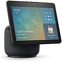All-new Echo Show 10 (3rd Gen) HD Smart Display with Motion & Alexa (Charcoal)