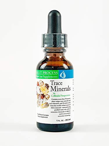 Trace Minerals in Colloidal Suspension by Morter HealthSystem B.E.S.T. Process Alkaline for Immunity, Health & Wellness with Fulvic Minerals & Amino Acids for Increased Energy & Bodily Tissue Support