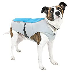 Frontpet Cooling Dog Vest With Adjustable Side Straps And Highly Visible Reflective Padding
