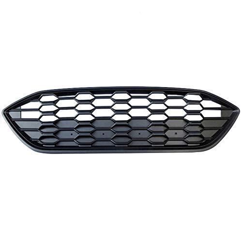 PPCP Stoßstange Grille, Vorne Racing Billet Oberen Facelift Grill Für Ford Focus MK4 ST-Linie 2019 2020,Matte Black