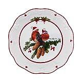 Villeroy & Boch 14-8332-3687 Toys Fantasy-Cuenco pequeño, diseño de pájaros, Porcelain Premium, Blanco, 17 x 17 x 3 cm