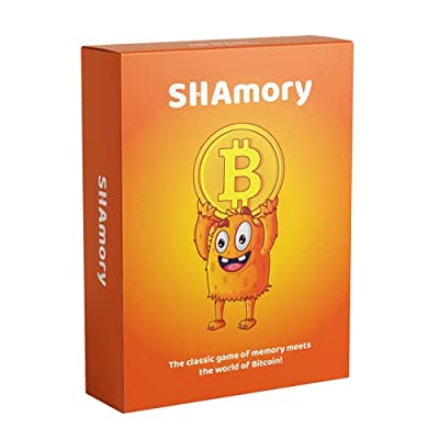 Bitcoin Mining Card Game, STEM Certified Bitcoin Miner Card Game for Adults, for Ages 5-7, for Ages 8-12 and Above. Fun Card Games for Families, Couples and Game Night with Friends