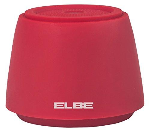 ELBE ALT-002-BT - Mini altavoz portátil Bluetooth V4.1 (2 W, 10 m,...