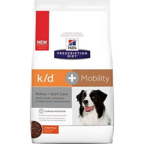 Hill's Prescription Diet k/d + Mobility Canine Dry Dog Food 8.5 lb
