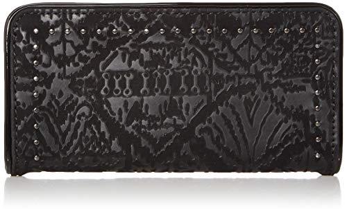 Sakroots Damen Arcadia Slim Wallet Geldbörse, schwarz, Einheitsgröße