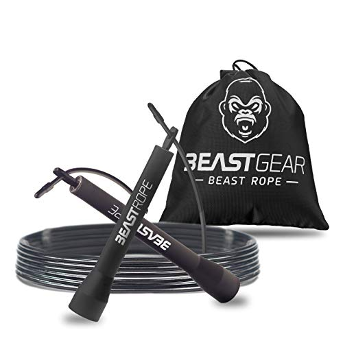 Beast Gear Skipping Rope – Steel...