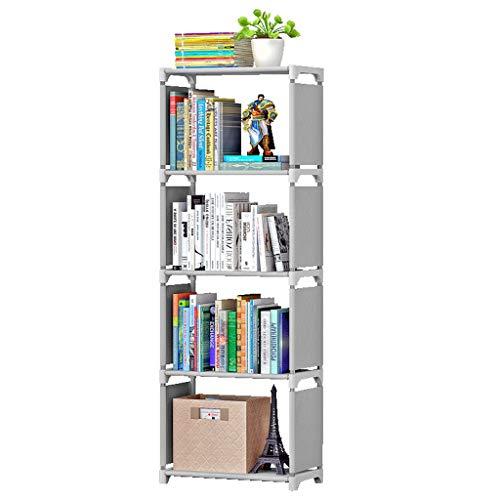 TLMYDD Estantería De Almacenamiento De Oficina Simple De Estantería Rack De Almacenamiento De Combinación Libre De 42x26x124cm Estante para Libros (Color : A)