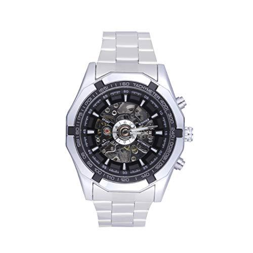 ESS WM257 - Orologio da polso da uomo, cinturino in acciaio inox colore argento