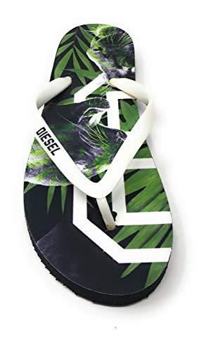 Diesel Jungle Jungen/Mädchen Sandalen Zehentrenner Slipper Schuhe Badeschuhe (Numeric_27)