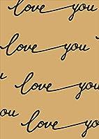 igsticker ポスター ウォールステッカー シール式ステッカー 飾り 1030×1456㎜ B0 写真 フォト 壁 インテリア おしゃれ 剥がせる wall sticker poster 011030 英語 LOVE 文字