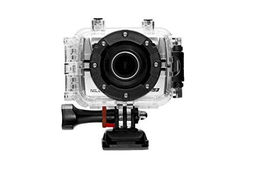Nilox F-60 Marc Marquez Action Cam 1080I, 60 Fps, Schermo e Accessori Inclusi, Argento