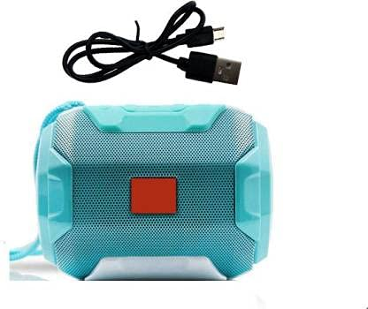 Vacotta VG05 Wireless Music Box 3D Stereo MP3 Music Player Clear Audio Built-in Mic Supported with Fm/Aux/USB & SD Card Slot (Light Blue)