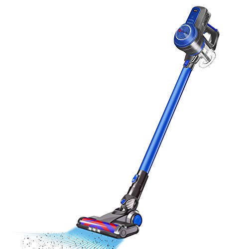 Cordless Vacuum Cleaner, 18KPa Vacuum Cleaning Suction 4 in 1 Cordless Stick Vacuum, LED Brush for Home and Car Cleaning, Dual Charging Powerhouse Cleaner, Lightweight Handheld with Multiple Brush