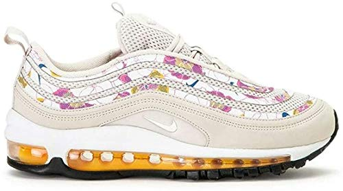 Nike Damen W Air Max 97 Se Leichtathletikschuhe, Mehrfarbig (Lt Orewood BRN/White/Laser Orange/White 101), 40.5 EU