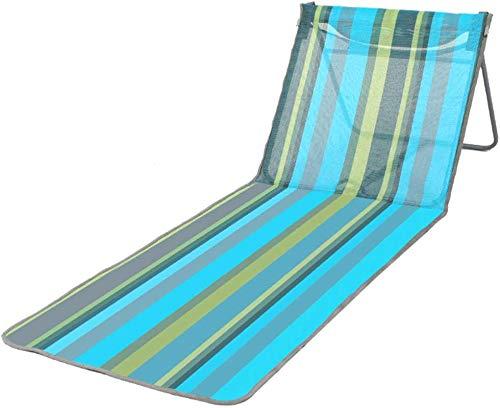 Outdoor Balkon Lounge Chair Beach Pool Gazebo Bed Tuin Balkon Buiten Terras Leisure Bed Teslin Stof folding bed