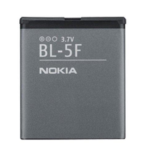 Nokia Battery BL-5F - Batería para móvil para Nokia (Ion de Litio, 950 mAh, 3.7 V)