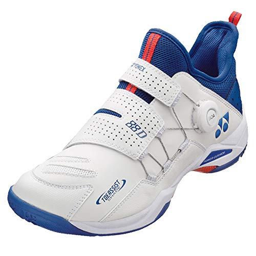 YONEX Power Cushion 88 DIAL Badminton-Schuh, Mehrfarbig (weiß / blau), 45.5 EU