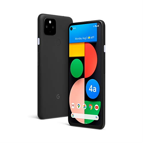 Google Pixel 4a with 5G - Android Phone - New Unlocked Smartphone with Night Sight and Ultrawide Lens - Just Black (Electronics)