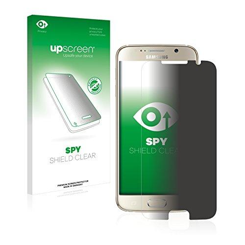 upscreen Protector Pantalla Privacidad Compatible con Samsung Galaxy S6 Anti-Espia Privacy