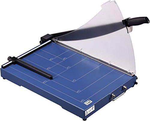 Olympia G 4420 Profi Stapelschneider (für Büro, DIN A3, 20 Blatt, Schnittschutz, Schneidemaschine mit Metallauflage, Fotoschneider mit Schneidelineal)